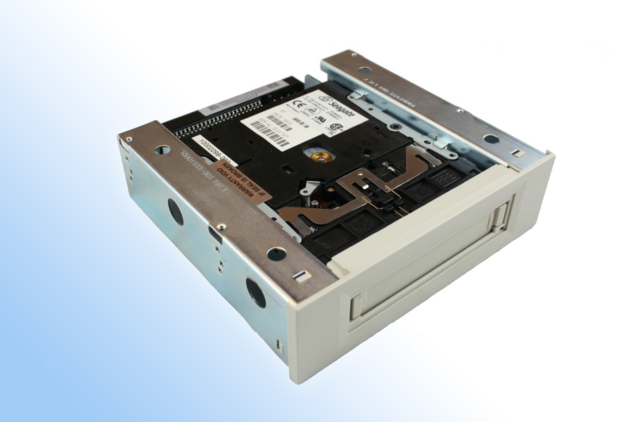 Flashtape solid state tape drive to replace legacy Travan tape drives